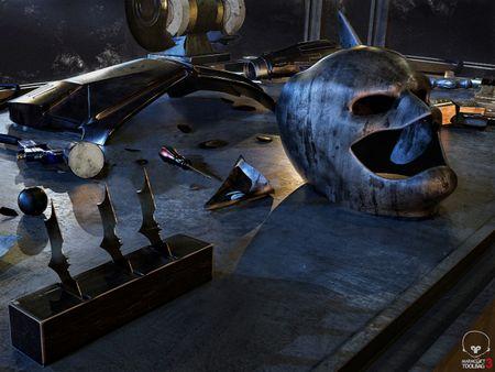 Batman Workdesk