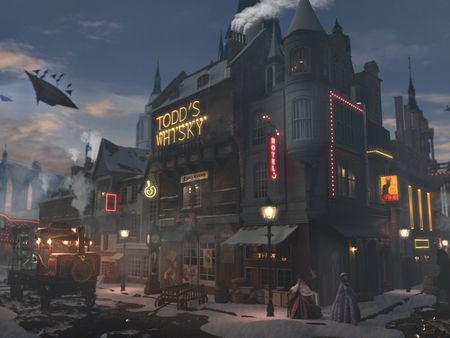 Steampunk Town