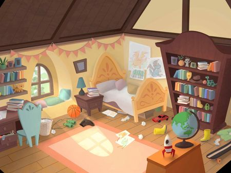 Environment Painting - Bedroom