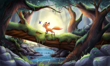 Little Forest Fox