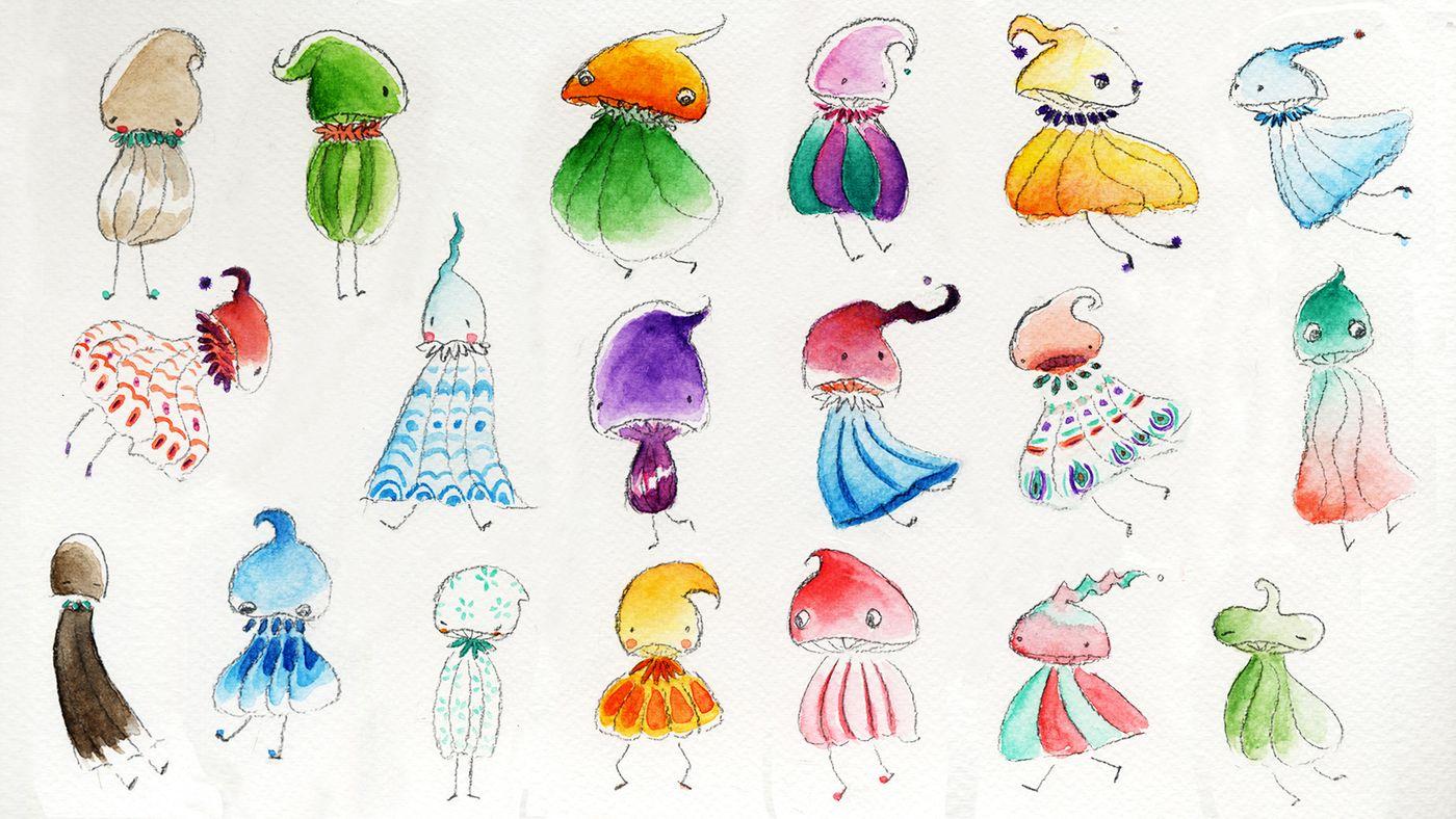 Mushrooms Katieyang