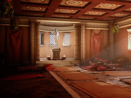 Ancient Greek Wine House