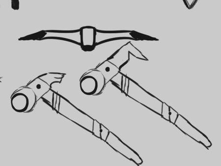 Makeshift signature weapon