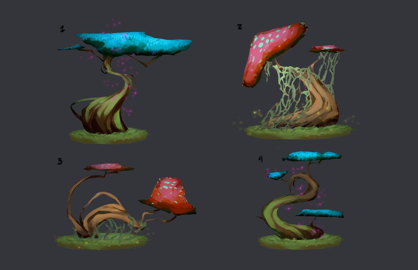 Fantasy Tree Concepts