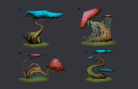 Fantasy Tree Concepts