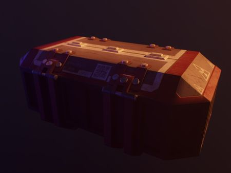 Sci Fi Space Style Storage Box