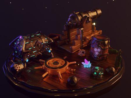Sea Of Thieves Diorama