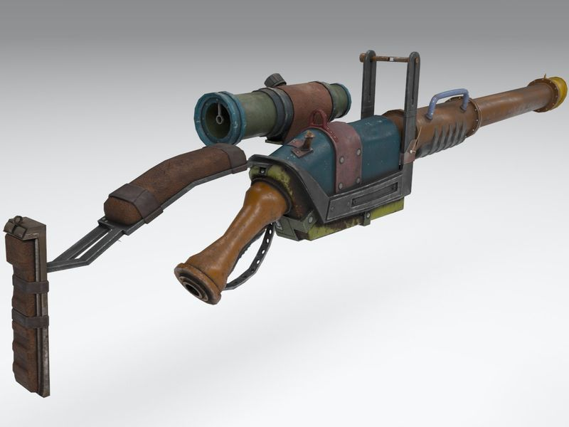 Post Apocalyptic Shotgun