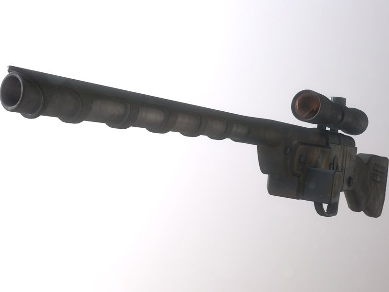 Fallout 1 Sniper Rifle