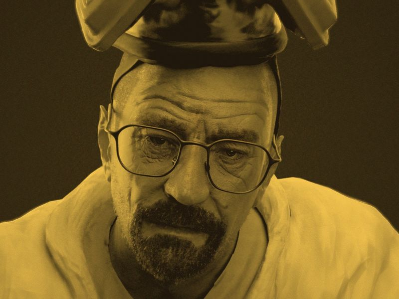 Walter White 3D sculpting