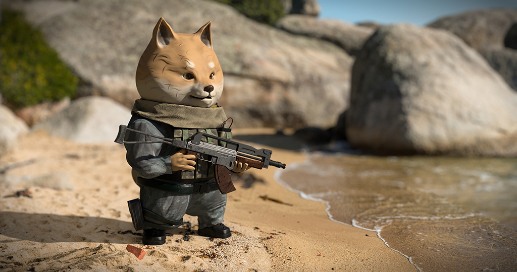 Shiba Soldier 2 Kevinle0504