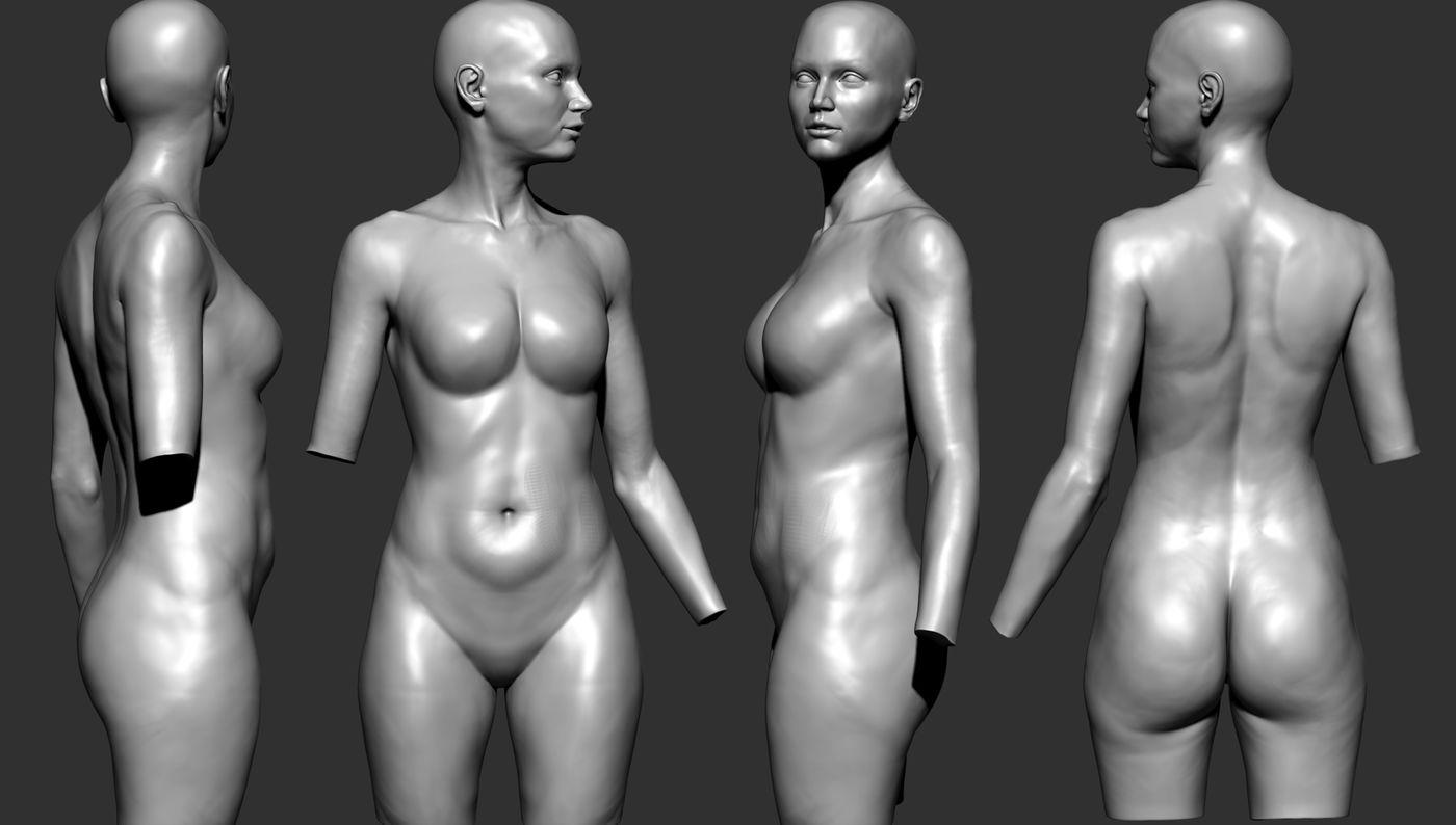 Clay Body Anatomy Khaledosama