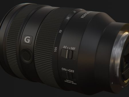 Modelling Practice Camera Lens