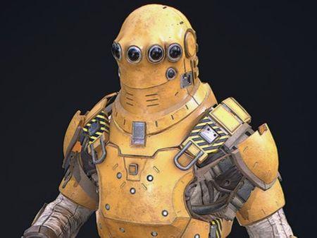 Scifi Engineer (Repair Man) - Realtime