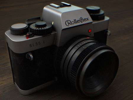 Weekly Drill - Rolleiflex Camera
