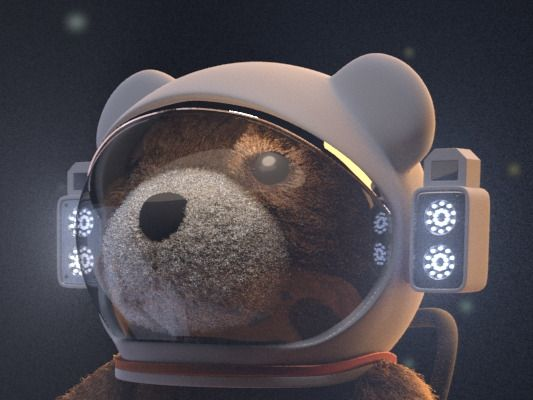 Space Teddy