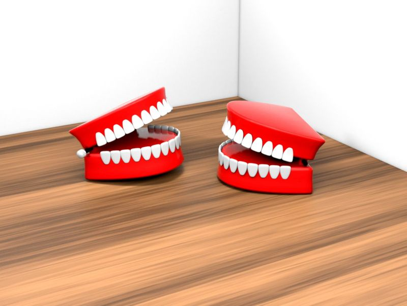 Chattering Teeth Toy - 3D models & animation
