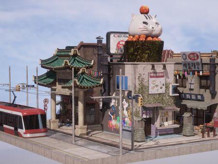 Toronto's Little Asian Corner