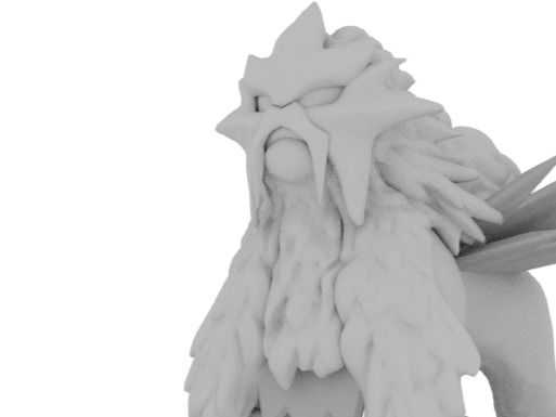 WIP Fan Art: Entei
