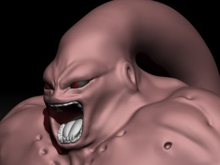 Boo Rage - Dragon Ball Z Sculpting