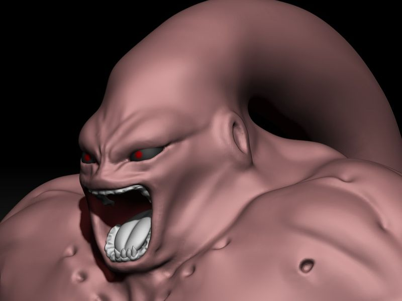 Boo Rage - Dragon Ball Z Sculpting