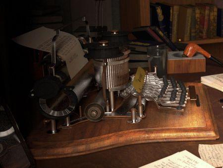 Tolkien's office