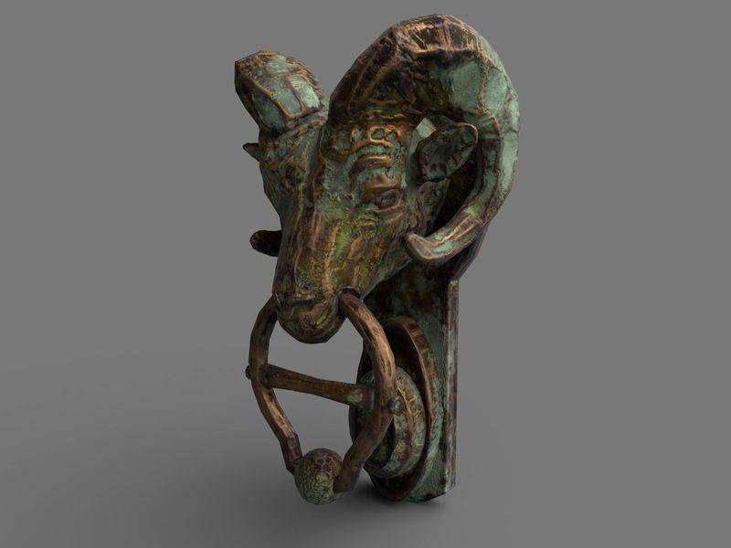 Ancient Door Knocker