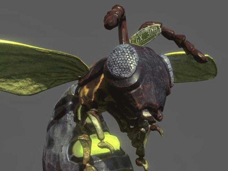 Giant Flying Bug