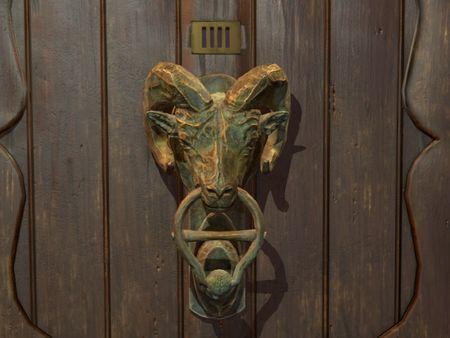 Ram Door Knocker
