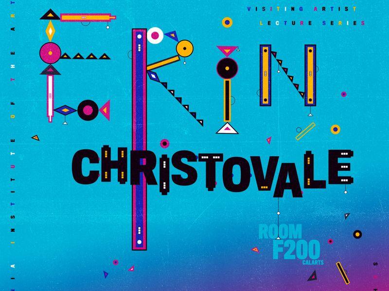 Poster for Erin Christovale