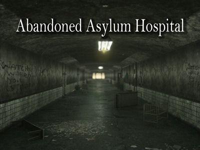 Abandoned Asylum Hospital