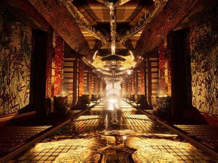 Temple Hallway - UE4
