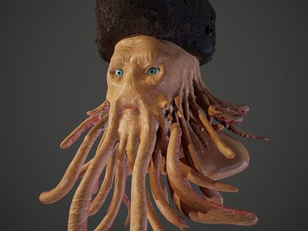 Davy Jones Sculpt