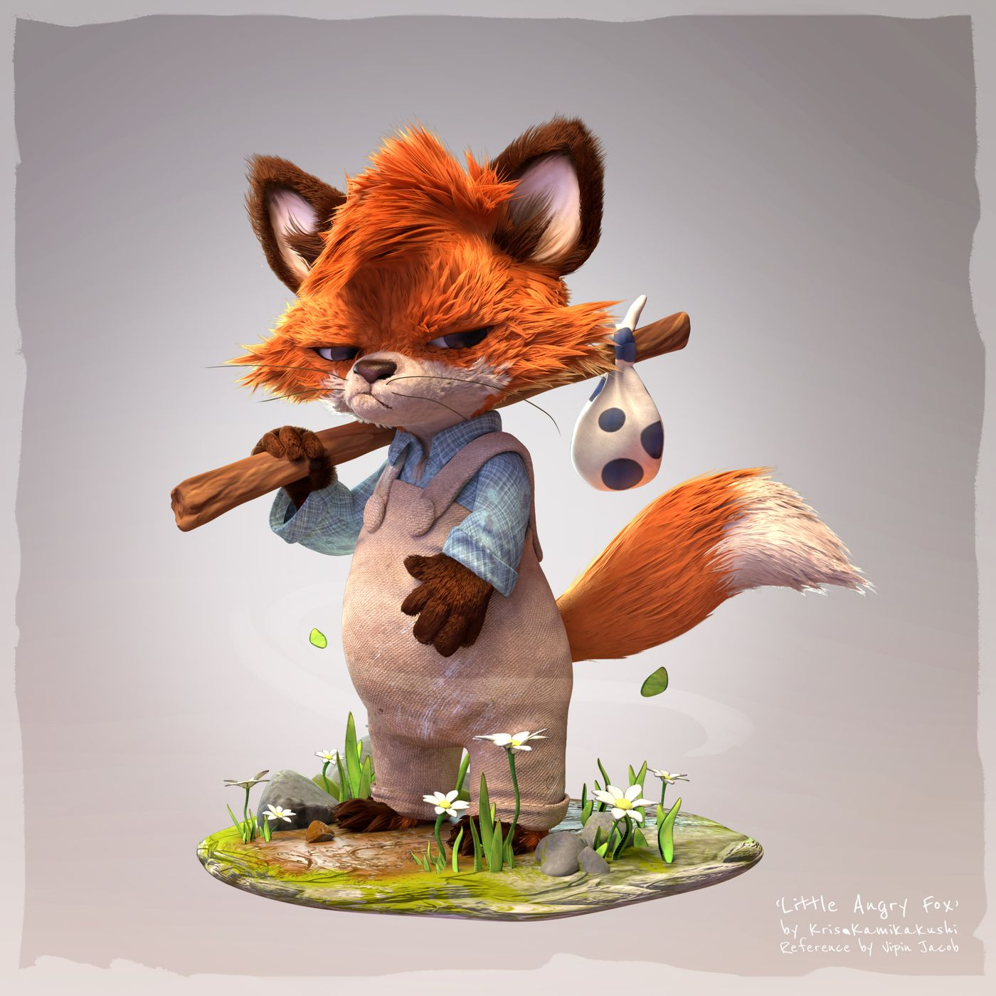 Fox Full Kriskamikakushi