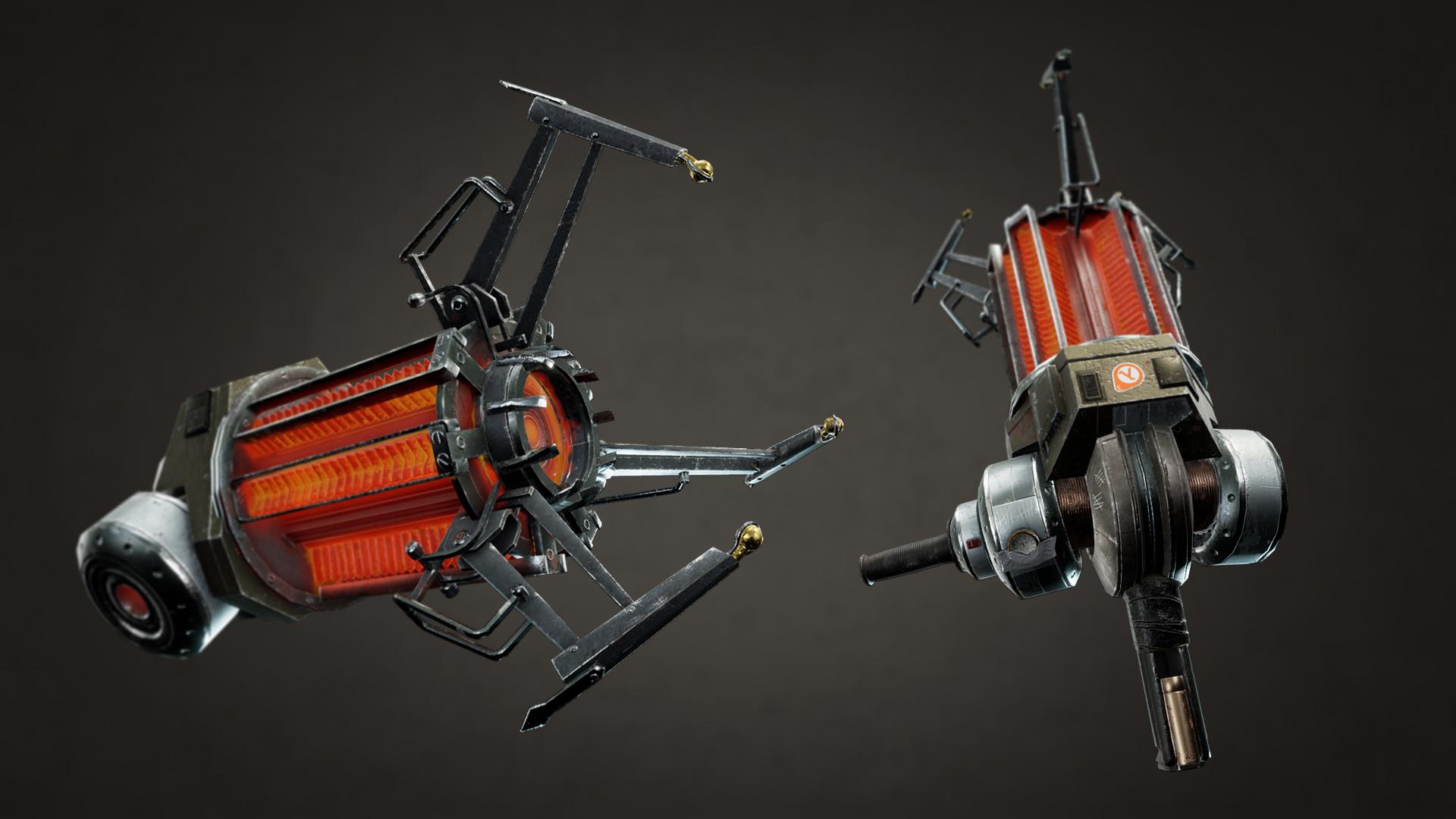 Half Life 2 - Gravity gun   The Rookies