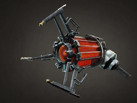 Gravity Gun - Game Asset Pipeline assignment