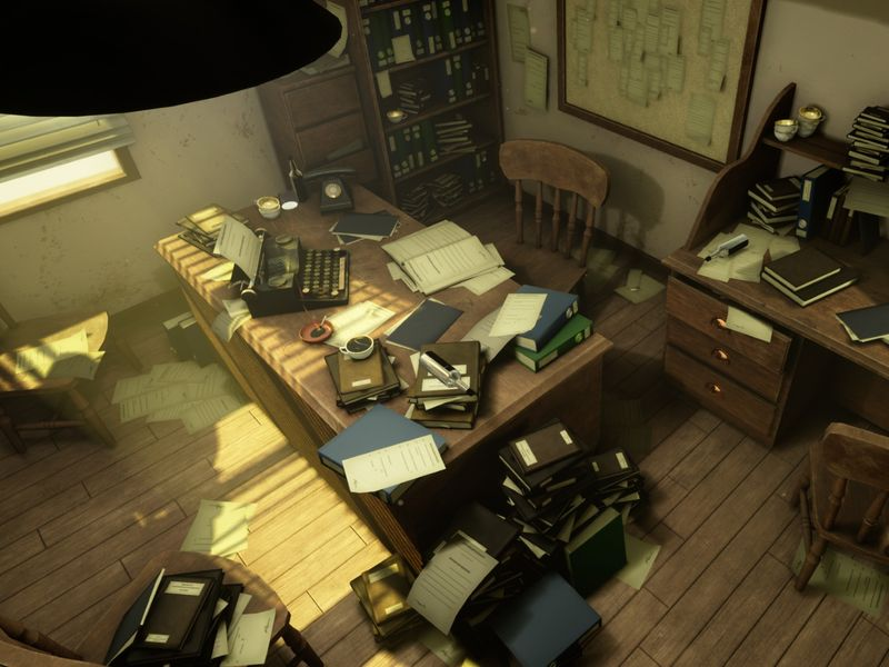 Blacksad Office - UE4