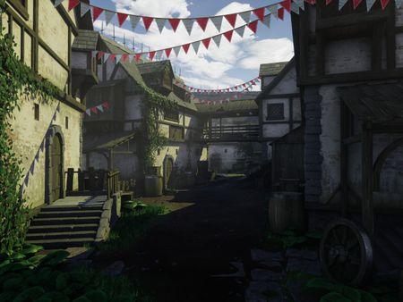 Medieval Village - UE4