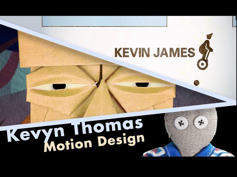 Kevyn Thomas- Motion Design work