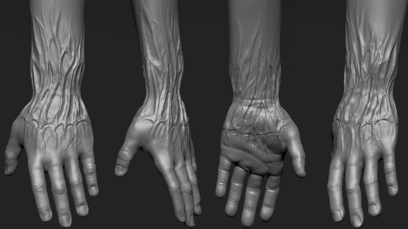 Kyran Roe Zbrush Hands Screengrab Kyranroe