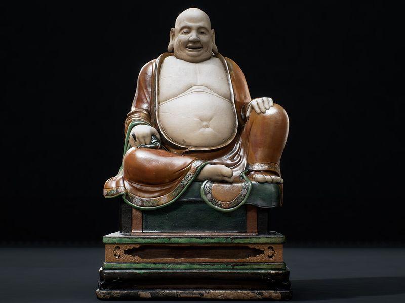 UE4- Prop art; Budai statue