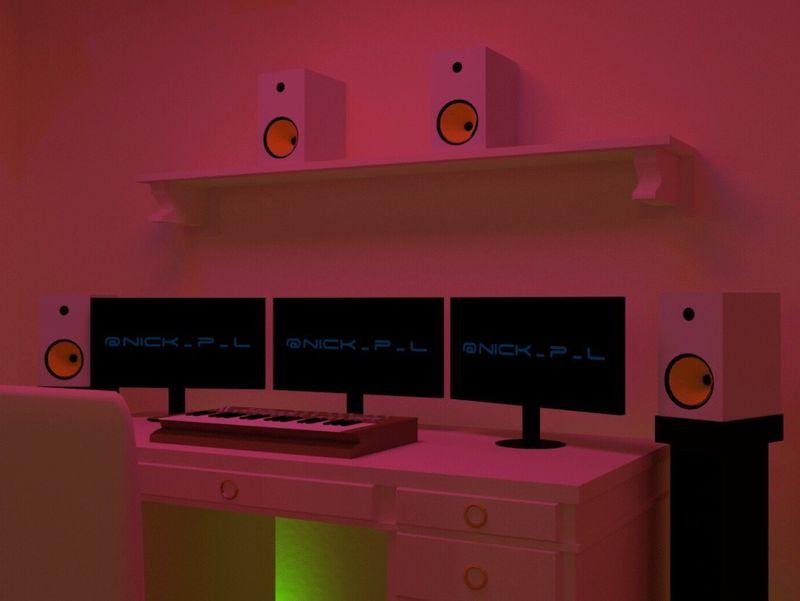 Trance music studio