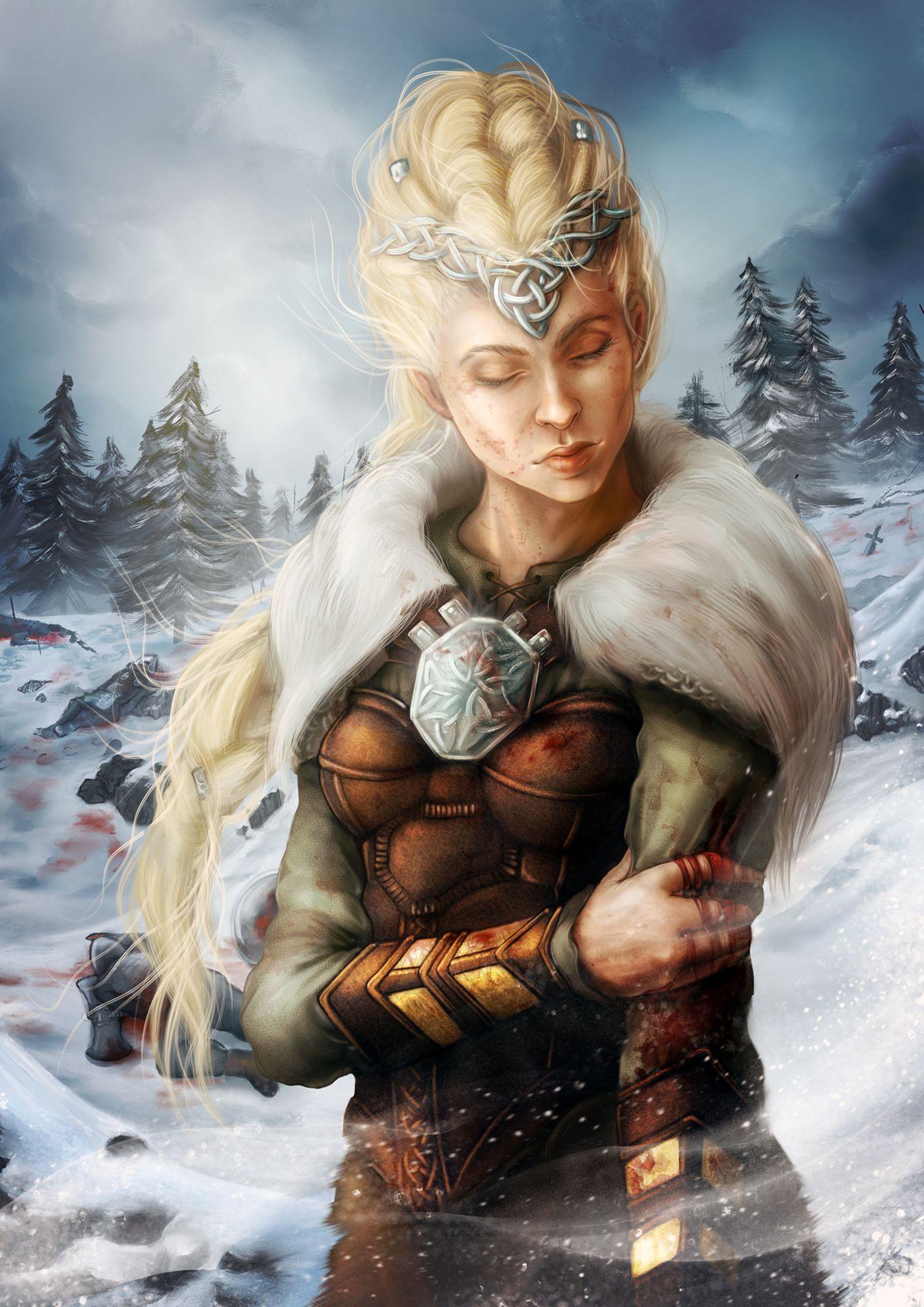 Vikingwoman Laiabaldevey