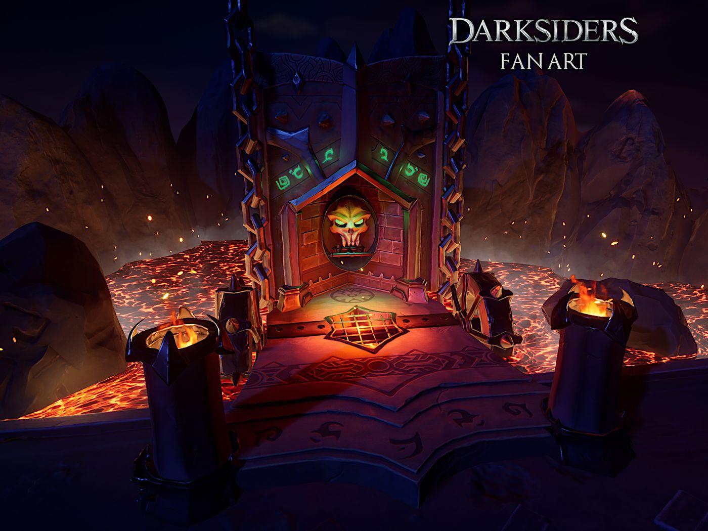 Darksiders Fan Art and Vampire House