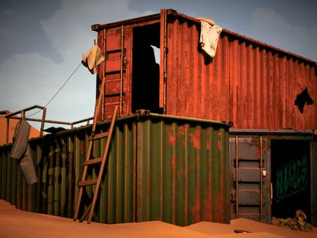 Weekly Drill #56: Shipping Containers