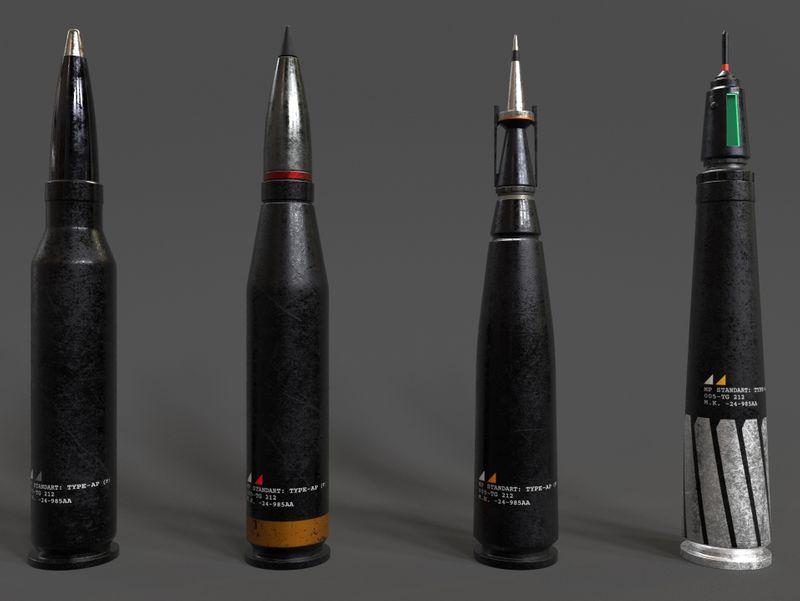 Sci-Fi Bullets