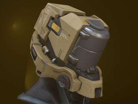 Halo Inspired Helmet