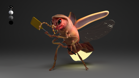 Germaine, the Fly Killer - Microcosmos