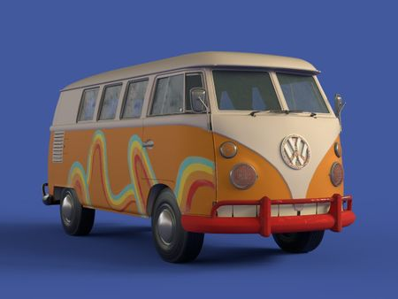 That hippie van