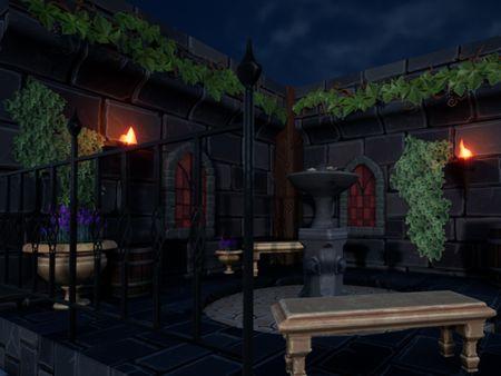 Courtyard Diorama